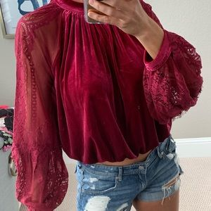 Never Worn Free People Top -